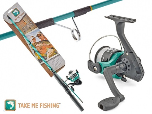 South bend take me fishing spinning combo wholesale live for Take me fishing